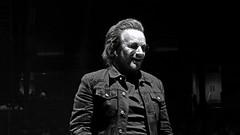 U2 - 2018-05-08 - San Jose (rossgperry) Tags: u2 u2eitour experienceinnocencetour bono sapcenter sanjose 20180508 2018 singer concert music bw blackandwhite