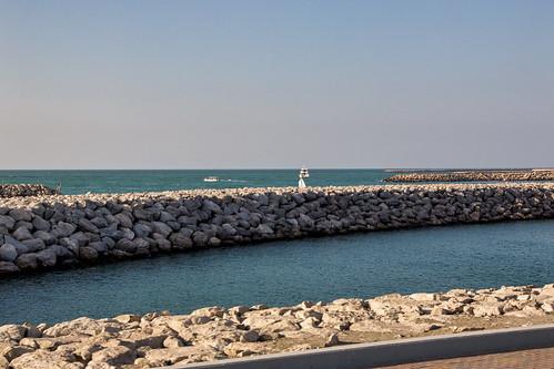 Breakwater at the Marina, Abu Dhabi