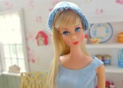 Vintage Barbie TNT Model 1160 (Big Red Angel) Tags: vintage barbie tnt vintagebarbietnt receptionline mint nataliesparissweets rement 6thscalekitchenhutch dolldiorama dollkitchen barbiekitchen barbiefurniture
