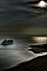 Follow the Sun.... (rienschrier) Tags: water vlissingen schip sunset ship