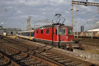 SBB Re 4/4 420 112 Basel Lokdepot