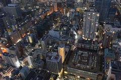 tokyo7226 (tanayan) Tags: urban town cityscape tokyo japan night view nikon v3 東京 日本 observation world trade center