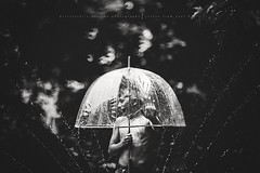 Water + freelensing = Magic (privizzinis passion photography) Tags: blackandwhite outdoor outdoors people child children childhood water freelensed fineart summer sprinkler boy umbrella
