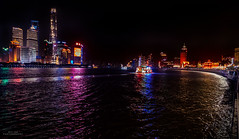 The Bund,   Shanghai at night (YL168) Tags: shanghai thebund skyline night huangporiver podung shanghaitower shanghaiworldfinancialcenter jinmaotower flickrunitedaward