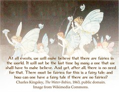 Charles Kingsley, There must be fairies, from The Water-Babies (Martin LaBar (going on hiatus)) Tags: fairies fantasy fantasie charleskingsley waterbabies imagination imaginación faerie