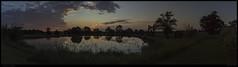 20180609_L'étang de la Vergnaie (Clapiotte_Astro) Tags: paysage panorama landscape étang coucher de soleil sun nuages cloud clouds canon700d tamron1750mm manfrotto maine et loire campagne ferme country flickrunitedaward