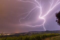 Heart of the Dark (Schlaer) Tags: explore crawler blitz blitze storm wiesbaden freudenberg heart canon eos 80d nacht night lightning landscape herz