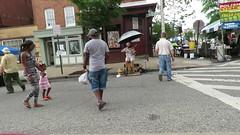 SoWeBo Festival 2018, Baltimore, Maryland (A CASUAL PHOTGRAPHER) Tags: festivals sowebofestival hollinsmarketneighborhood streetmusicians umbrellas streetfairs canonpowershotsx60hs video entertainers singers