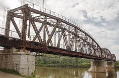 Old Bridge (skur_s72) Tags: алтай сибирь скурыдин юрийскурыдин железнаядорога altai siberia skuridin skurydin russia russianrailways мост bridge old чумыш река вода