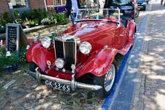 Workum 2018 – 1952 MG TD Midget (Michiel2005) Tags: car auto mg td midget cabriolet workum warkum fryslân friesland nederland netherlands