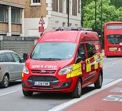 London Fire Brigade - Fire Investigation Unit - LG18FNR (Waterford_Man) Tags: lfb londonfirebrigade londonfireservice ford transit fiu fireinvestigationunit lg18fnr
