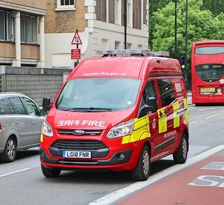 London Fire Brigade - Fire Investigation Unit - LG18FNR