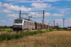 Sibelin Woippy au nord de  Quincieux (AziroxY) Tags: trains trainspotting train bb26000 fantome grise de marchandise photo plm photographie photosncf impérial alpes rhône