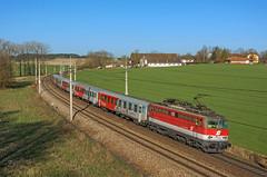 ÖBB 1142 624 (maurizio messa) Tags: öbb oberösterreich österreich austria rh1142 mau bahn ferrovia passauer passauerbahn treni trains railway railroad nikond7100 rex1174 rex