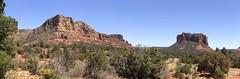 Nearer to Sedona Arizona (northern_nights) Tags: sedona arizona pano panorama scenery overlook views geology