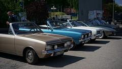 Opel Rekord / Commodore Cabrios (Mark 800) Tags: oldtimertankstelle hamburg opel rekord commodore cabrios