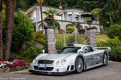 Unicorn (Nico K. Photography) Tags: mercedesbenz clk gtr amg rare hypercar classic silver nicokphotography vanishing point 2018 italy stresa
