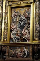 Astorga (León-España). Catedral. Retablo Mayor de 1584, obra de Gaspar Becerra. Pentecostés (santi abella) Tags: astorga león castillayleón españa catedraldeastorga retablos