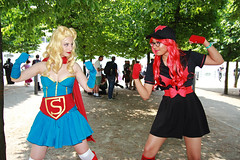 MCM Saturday 2018 IV (Lee Nichols) Tags: mcmsaturday2018 mcm canoneos600d cosplay cosplayers costumes comiccon costume mcmcomiccon black bombshellbatwoman batwoman dccomics supergirl bombshellsupergirl