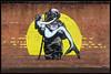 Adw Art - Deep Love (Gramgroum) Tags: street art graffiti irlande nord belfast sirene scaphandre brique mur adw deep love