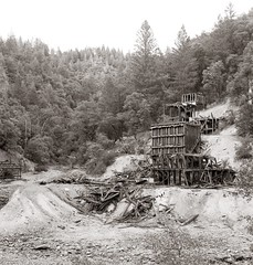 Ingot, Calif Nº 2 (efo) Tags: mine abandoned yours california ingot shasta hasselblad 80mmf4planar