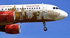 LHR/EGLL: AirMalta Airbus A320-214 9H-AEO (Roland C.) Tags: lhr ebll heathrow london uk airmalta airbus a320 a320200 a320214 9haeo