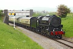 5197 S160 steam locomotive (Roger Wasley) Tags: 5197 s160 hayles bridge gwr gwsr gloucestershirewarwickshiresteamrailway steam locomotive train railways gb uk gloucestershire cotswoldfestivalofsteam railwayherald