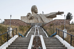 Lenin sculpture. (Stefano Perego Photography) Tags: stepegphotography stefano perego concrete modernism modernist soviet sculpture statue monument modern architecture design