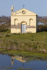 Albarella (paolotrapella) Tags: oratoriomazzucco albarella mare veneto italia chiesa riflesso