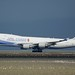 China Airlines (Taiwan) Boeing 747 -400 freighter B-18716 landing SFO DSC_0003