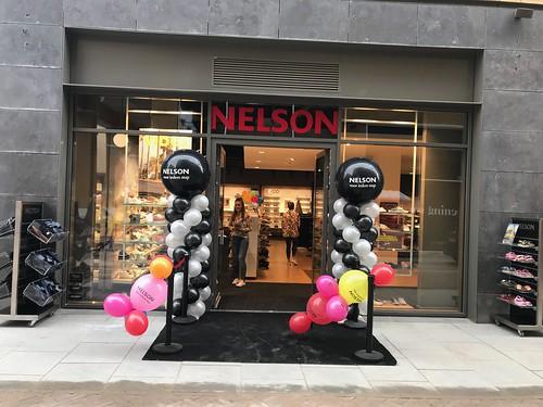 Ballonpilaar Breed Rond Bedrukt Opening Nelson Leidsche Rijn Utrecht