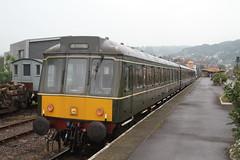51880 MINEHEAD 310518 (David Beardmore) Tags: 51880 class115 dieselmultipleunit dieselengine dmu br britishrailways britishrail wsr westsomersetrailway