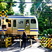 JR Yokosuka Line E217 series train at Kitakamakura : 北鎌倉・第一円覚寺前踏切にてJJR横須賀線 E217系電車