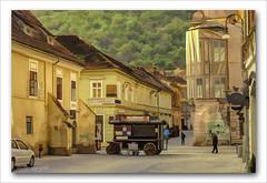 Early morning in Brașov, Romania (Mr Joel's Photography) Tags: brașov romania earlymorning digitalartpainting paintcreations