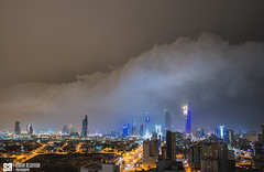 Kuwait - Midnigh Cell And Haboob (Sarah Al-Sayegh Photography | www.salsayegh.com) Tags: kuwait sony sonya7riii sonyalpha night storm haboob supercell lowcloud outflow photography cityscape cityscapephotography sandstorm dust sarahhalsayeghphotography infosalsayeghcom wwwsalsayeghcom
