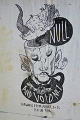 Ferin Fick, San Francisco, CA (Robby Virus) Tags: sanfrancisco california sf ca null void no 1 zine book magazine paste wheatpaste pasteup street art valencia mission district