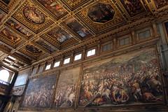 Firenze - Palazzo Vecchio: Salone dei Cinquecento