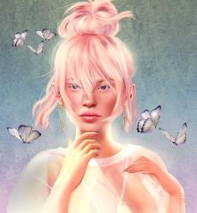 Eloise Blake-  Client picture (Aaisling | *La Jolie Rose* | Taking Clients) Tags: eloiseblake clientpicture portrait picture secondlife whimsical pixie