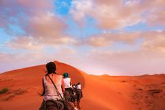 Sahara Tour (T is for traveler) Tags: travel traveling traveler tisfortraveler digitalnomad exploration explore backpacker africa morocco merzouga sahara desert sunset people camel sand dunes canon 700d 1855mm