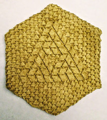 Sierpinski-Penrose Triangle 0 (-Pantherophis Obsoletus-) Tags: origami tessellation triangle geometric math