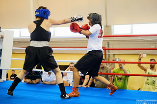 boxing sparring!