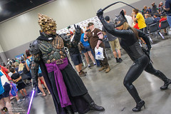 2018 Heroes Con 049 (The Clone Emperor) Tags: charlotte events heroescon places northcarolina usa darth bane cat woman