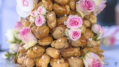 Mariage - Foodporn (Nik2o) Tags: nikon d7500 sigma art fleurs food foodporn gateau cake rose bokeh focus white