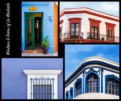 windows & doors of la machado - pt 6 (rockinmonique) Tags: doors windows mazatlan lamachado sinaloa mexico blue red white moniquewphotography canon canont6s tamron tamron45mm copyright2018moniquewphotography