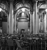 Se inizierò a parlare di amore e stelle, vi prego: abbattetemi. (#mimesi) Tags: sedie tavoli uomo charlesbukowski bar notte streetphotografy monocromo fujix venezia