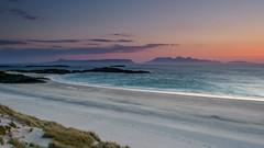Camusdarach Beach Sunset (burnsmeisterj) Tags: olympus omd camusdarach scotland beach sunset localhero rum eigg em1