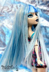 Ghoulia Yelps ♥ (♥ MarildaHungria ♥) Tags: ghouliayelps freakyfusion monsterhigh mh mattel doll toy blue