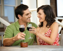 Stock Images (perfectionistreviews) Tags: 2 30s adult alcohol alcoholicbeverage cafe caucasian cheerful color couple dating diningout drinking eatingout female glass grinning happiness happy headandshoulders horizontal husband leisure leisureactivity lifestyle male man marriage married people relationship restaurant sitting smile smiling socializing thirties toasting two wife wine woman photograph cheers brunette wineglass hispanic latino date dining outdoors foodanddrink