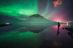Aurora Mirror (albert dros) Tags: kirkjufell iceland albertdros aurora northernlights travel reflection