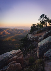 Sunset on the Mongollon Rim (Exiftential) Tags: sunset dusk cliffs valley mountains mountainrange hill landscape scenics ridge